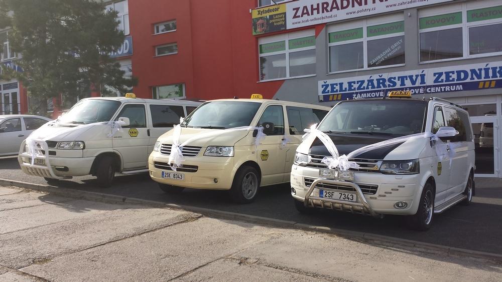 Osobní doprava taxi službou v ČR a do zahraničí