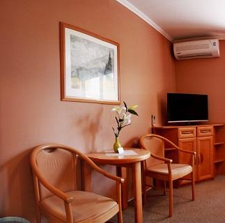 Nekuřácké pokoje s klimatizací v penzionu Lednicko-Valtický areál