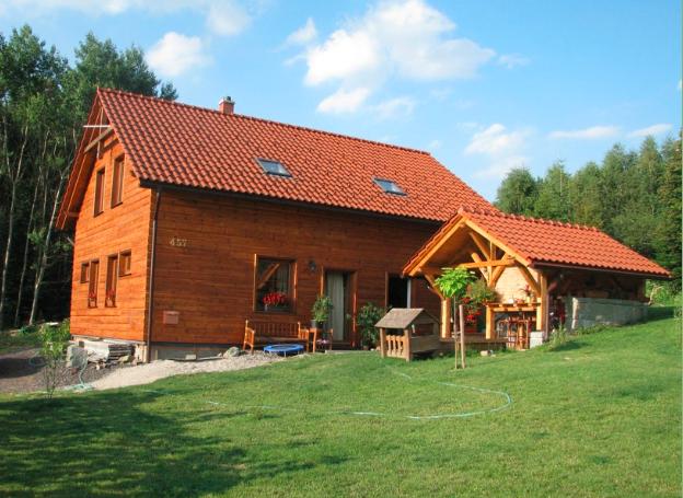 Tesařské práce, výstavba střech, dřevěných konstrukcí a nízkoenergetických domů