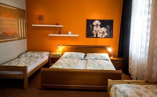 Ubytování v soukromí v klimatizovaných pokojích Hustopeče