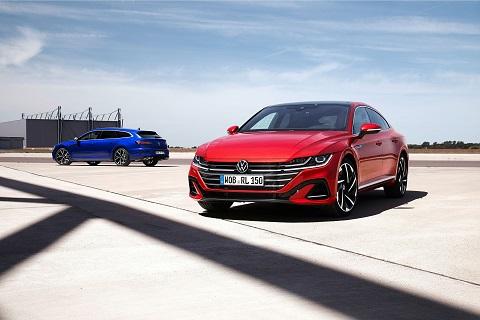 Nové modely VW Aerton a Aerton Shooting Brake – světová premiéra