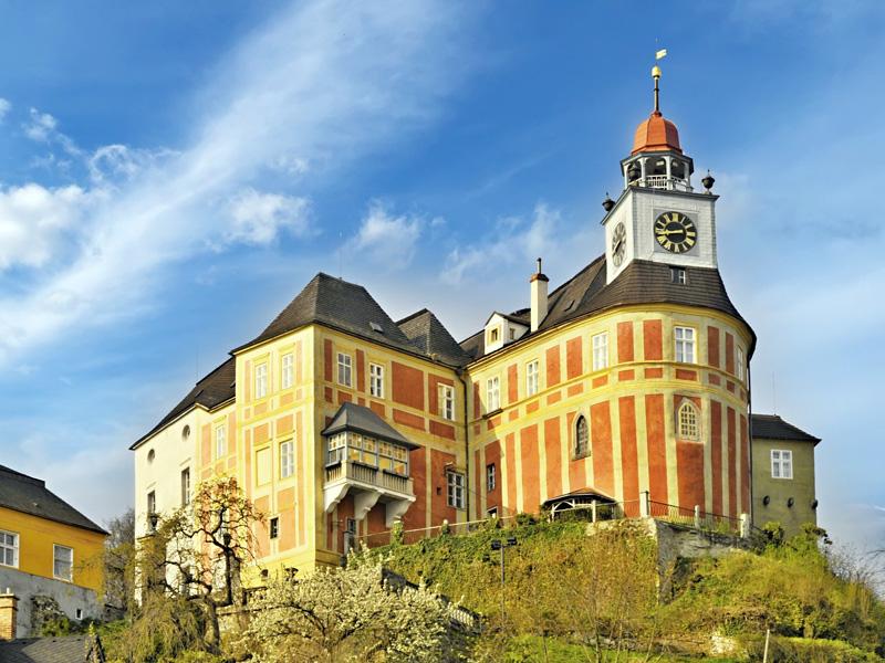 Město Javorník – pohraniční město na úpatí Rychlebských hor se zámkem Jánský Vrch
