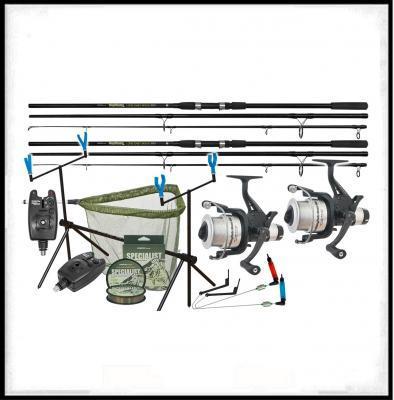 Rybářské potřeby MILO, rybářské pruty, sety, navijáky