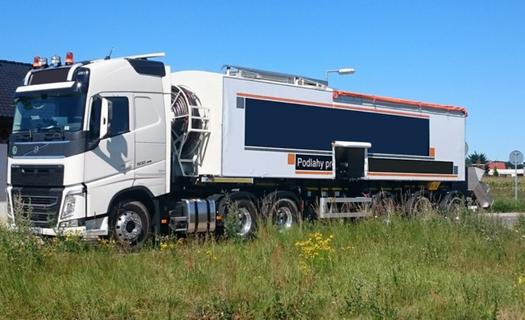 Dodávka kompletní hydraulický okruh linky litých potěrů Olomouc