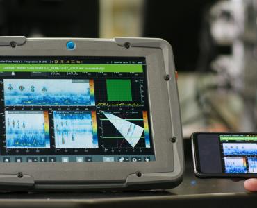 Nedestruktivní testování za pomoci ultrazvuku