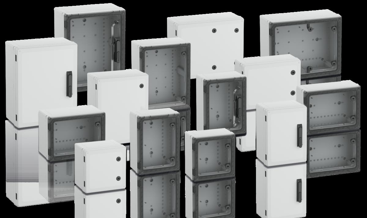 Spínací skříně s otvíracím mechanismem, ochrana elektrických a elektronických součástek