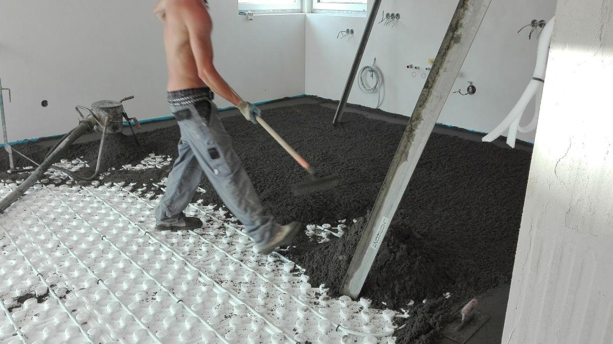 Lité podlahy, izolace, dilatační pásky - Betony Ouřada s.r.o.