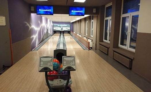 Bowlingové dráhy Hotel TRIM Pardubice