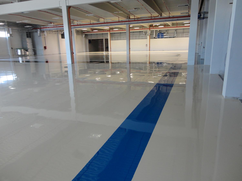 Lité pryskyřicové podlahy