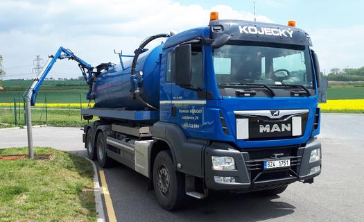 Odvoz fekálií, čištění odpadních septiků a žump Kroměříž