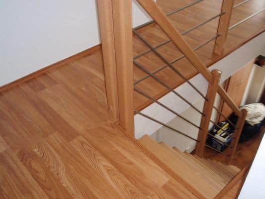 Laminátové plovoucí podlahy - realizace