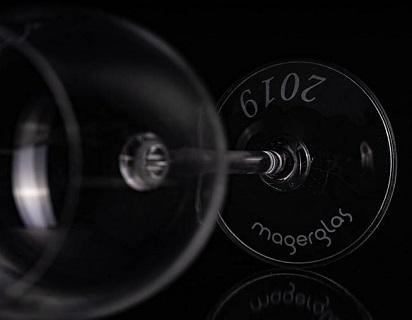 Skleničky na víno s potiskem - výroba