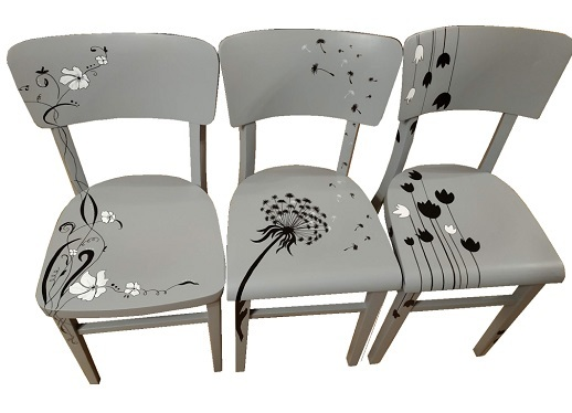 Renovace starých i nových židlí, Hranice