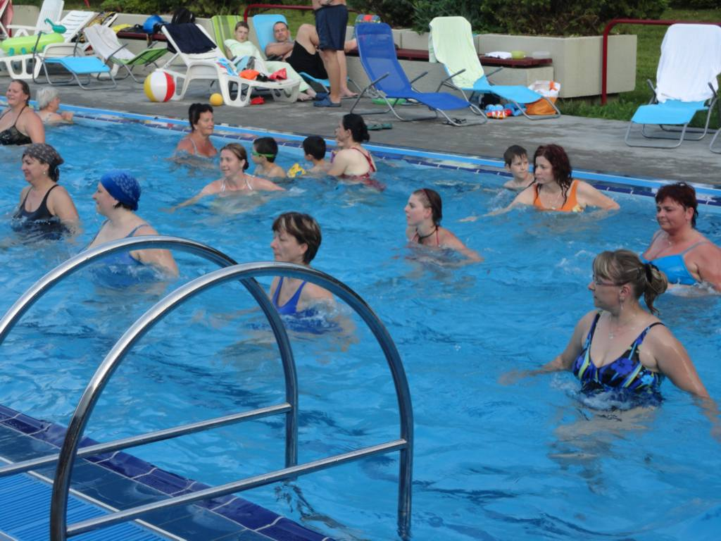 Aqua Latin Dance, cvičení ve vodě, aqua zumba, aqua fitness Opava