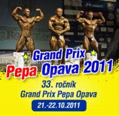 Grand Prix Pepa Opava 2011, kulturistika, fitness, body fitness