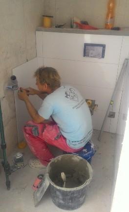 Rekonstrukce bytových jader a koupelen na klíč