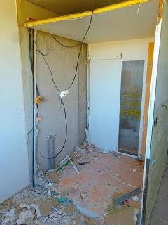 Rekonstrukce bytového jádra v panelovém domě Znojmo
