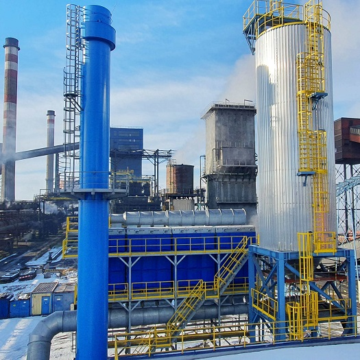 Průmyslové filtrace, čištění spalin a odpadních plynů - engineering, kompletní studie