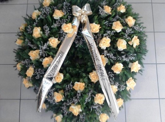 Aranžmá z čerstvých květin