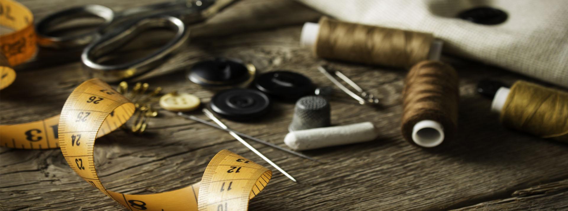 Krejčovství, šicí dílna, zhotovení oblečení na zakázku