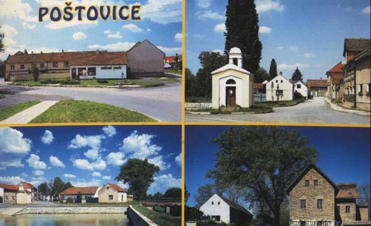 Obec Poštovice s kulturním a sportovním životem a krásnou přírodou