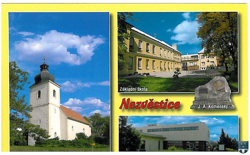 Obec Nezvěstice, památky, kostel