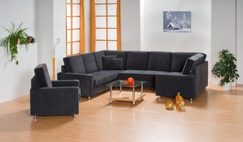 Bytový nábytek - ložnice, dětské pokoje, sedací soupravy, obývací stěny
