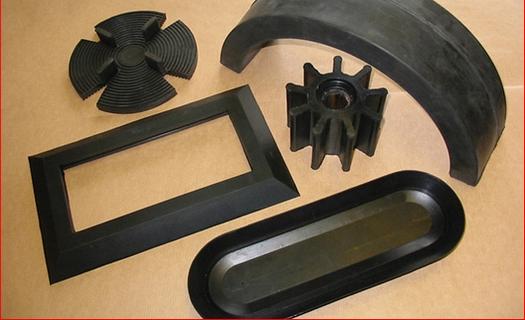 Komponenty z technické pryže