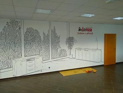 Malování kanceláří, firem, kaváren, restaurací