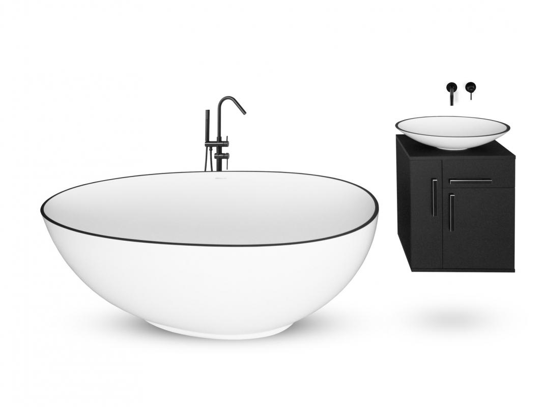 MRAMORIT a.s., zakázková výroba vybavení do koupelen, umyvadla, vany