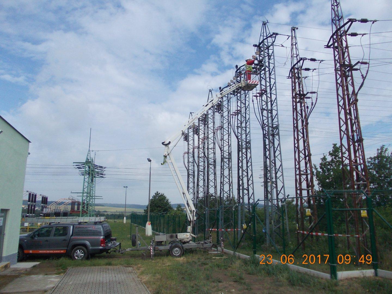 Projekty elektrického zařízení vysokého napětí