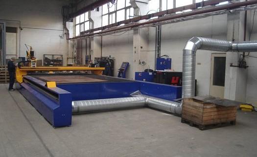 CNC dělící stroje Praha, dodávka, montáž, servis, příslušenství