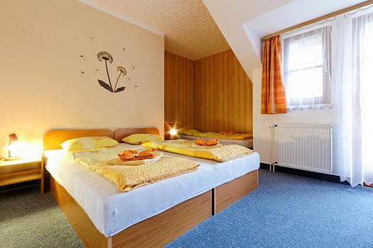 Ubytování, klimatizované pokoje