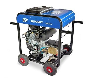 Mobilní vysokotlaký čistič Hydroblaster 500 bar je určen pro profesionální využití v oblasti průmyslového čištění