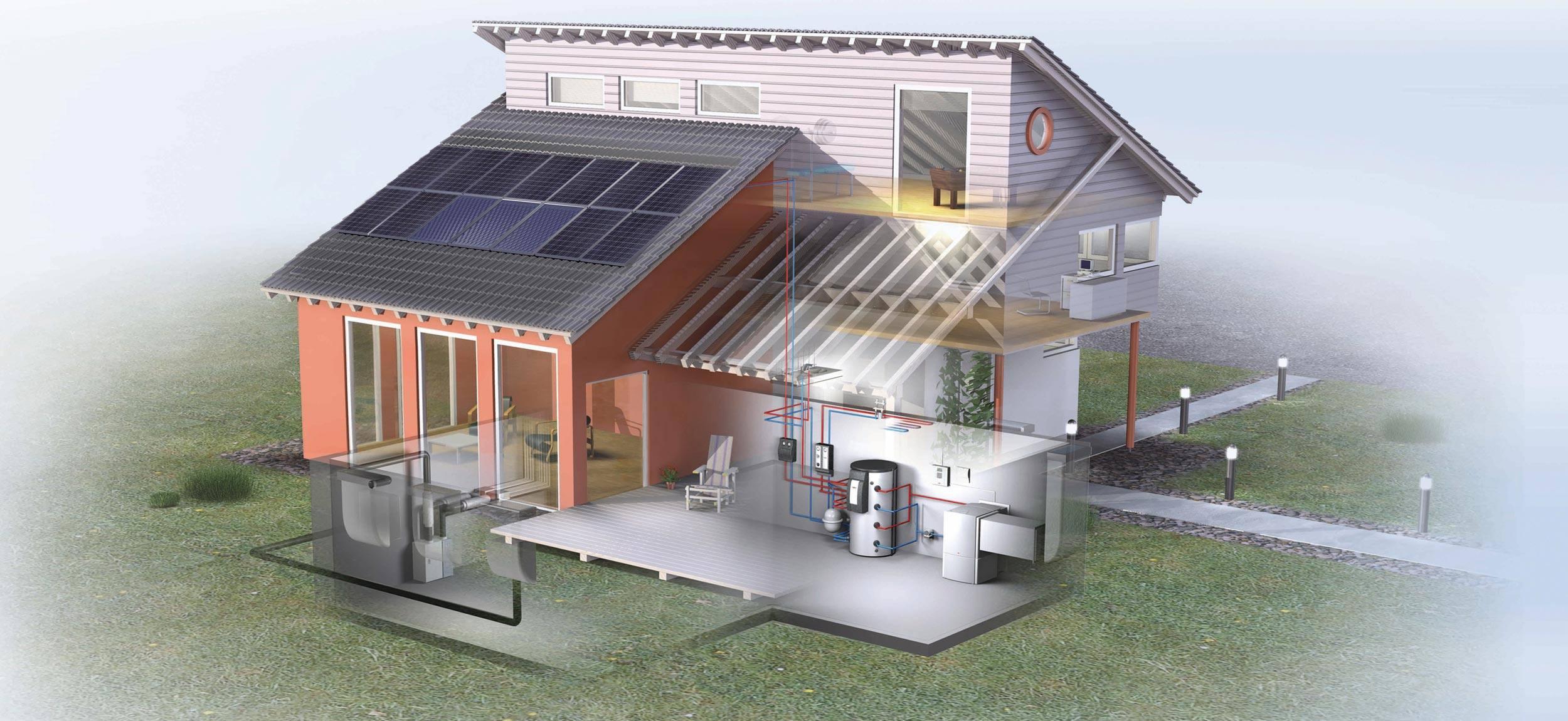 Rekuperační systémy pro rodinné domy, novostavby nebo komerční prostory