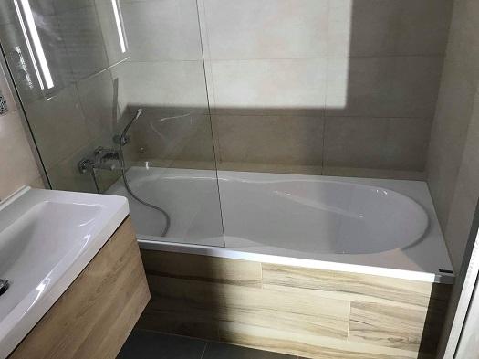 Kompletní rekonstrukce koupelen - zpracování 3D návrhu, dodávka a montáž zařízení