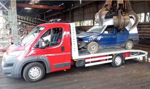 Ekologická likvidace vozidel, autovraků - odvoz do 50km od Vás je na naše náklady