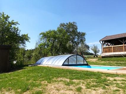 Pobyt na chalupě v Orlických horách s bazénem se slanou vodou