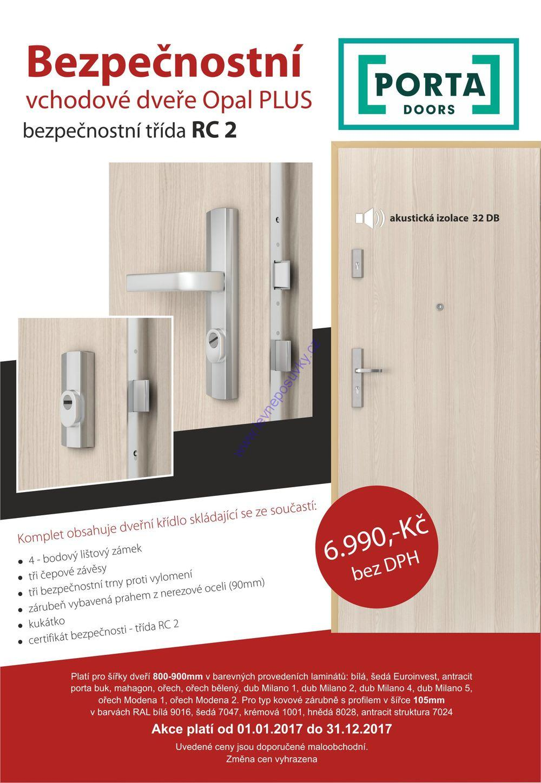 Prodej interiérových dveří značek INVADO, PORTA a ERKADO za zajímavou cenu
