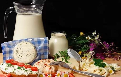 Výroba mléka a mléčných výrobků Farma Tompeli