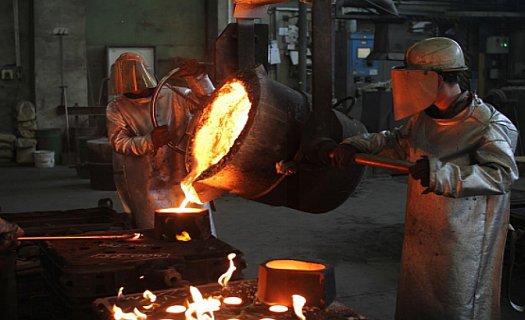 Slévárna, výroba průmyslových odlitků z barevných i železných kovů pro oblast strojírenství