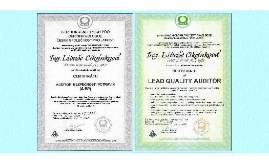 Audity kvality potravin a krmiv Olomouc, poradenství v oblasti kvality výroby a distribuce potravin