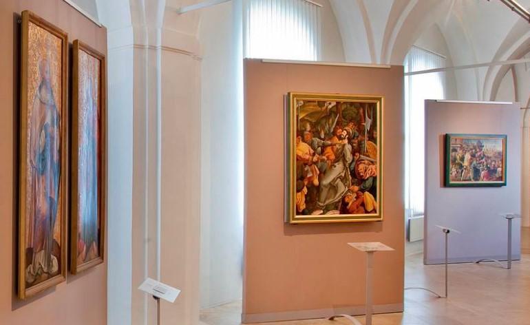 Obrazy, historická díla různých slohů