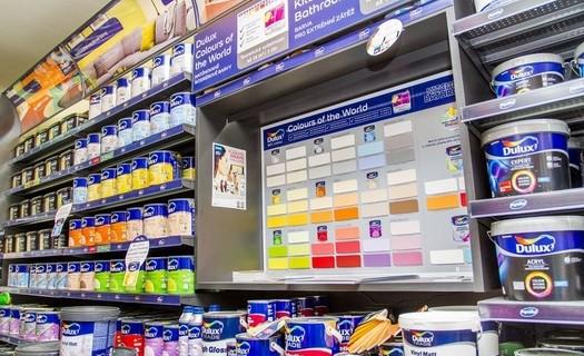 Prodej značkových barev, laků a omítek pro domácnost a stavebnictví Praha