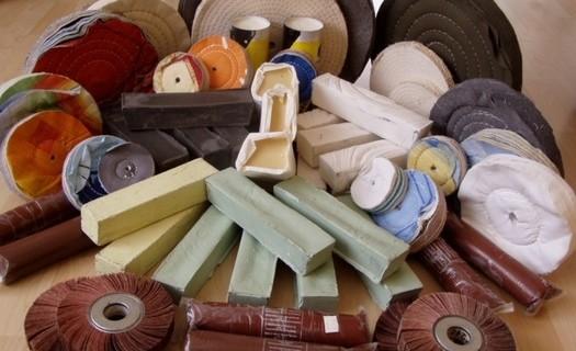 Prodej brusných a leštících sad Eshop Benešov, povrchové úpravy, leštění a broušení kovů