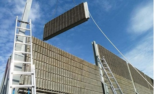 Betonové protihlukové stěny, panely a mobilní svodidla pro pozemní komunikace - výroba