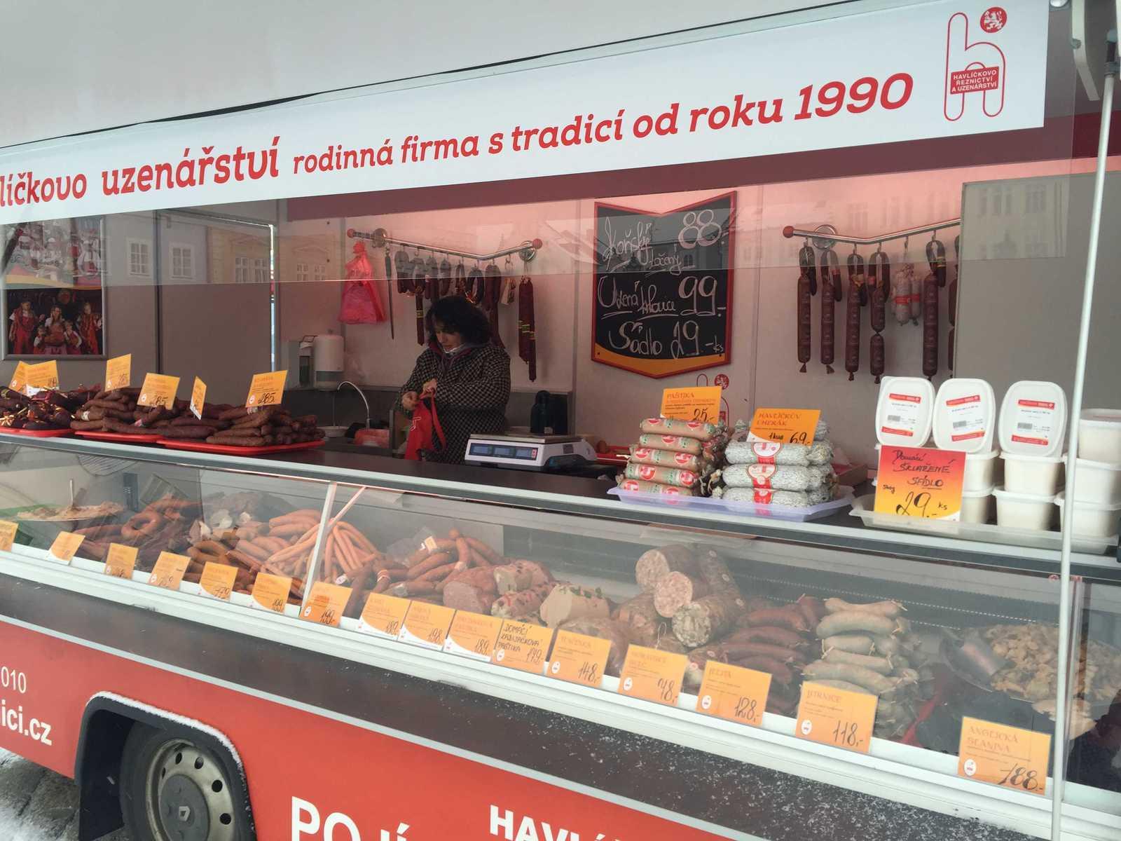 Prodej vysoce kvalitně opracovaného vepřového a hovězího masa