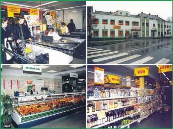 Jednota diskont Coop Hlinsko maloobchod potraviny ovoce zelenina