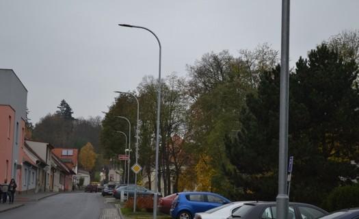 Nové osvětlení služby města Náměšť nad Oslavou