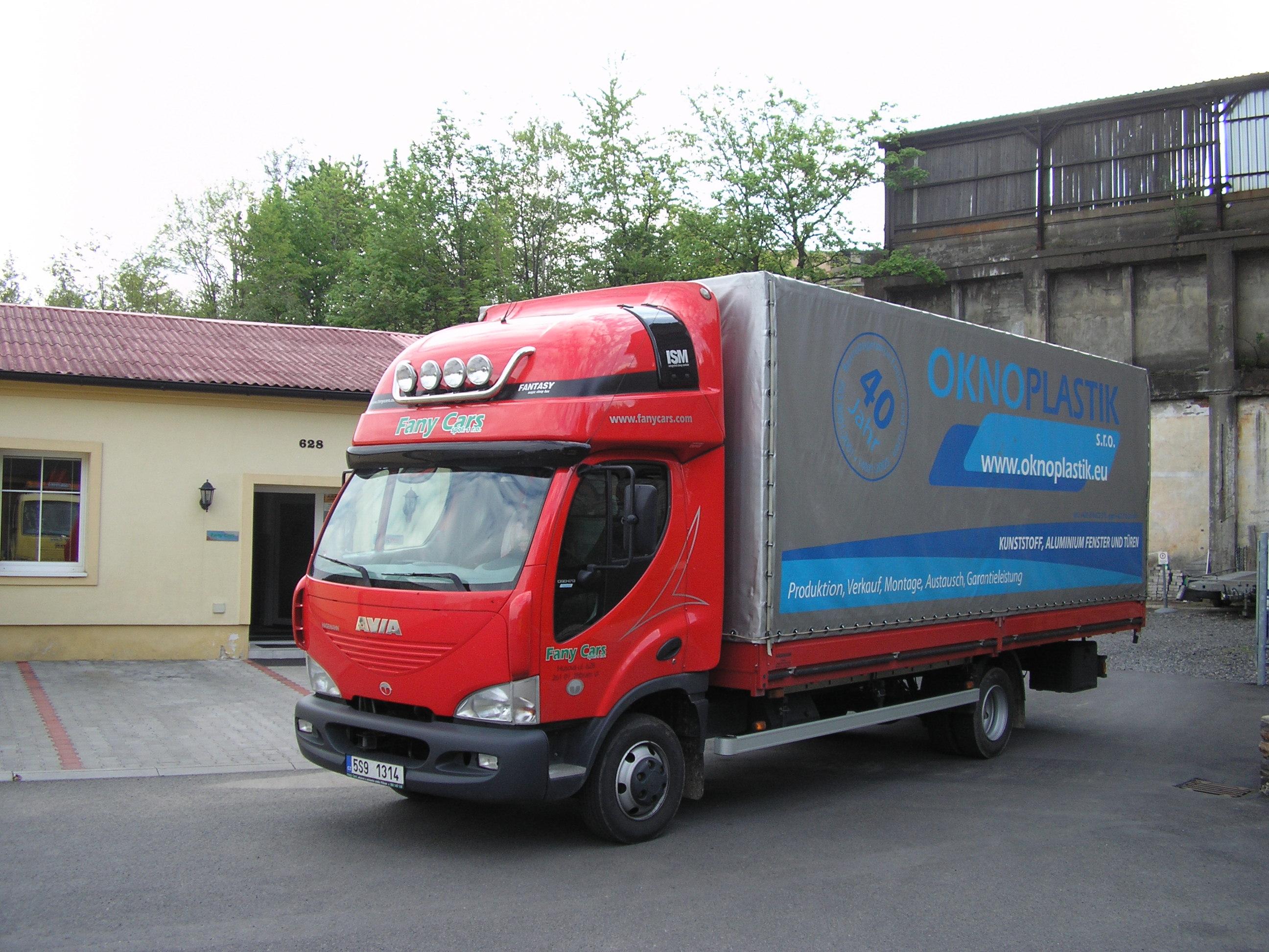 nákladní autodoprava